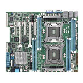 ASUS Z9PA-D8 (ASMB6-IKVM) Server Motherboard - 2 x Socket 2011, ATX, Intel C602-A, Xeon E5-1600/E5-2600 family, DDR3 1066/1333 LRDIMM up to 256GB, 3 x PCI-E x8, 2 x PCI-E x16, 2 SATA 6Gb/s, 4 SATA 3Gb/s, Aspeed AST2300 16MB, 2 x Intel 82574L + 1 x Mgmt LAN