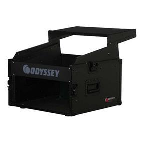 Odyssey FRGS806BL - Black Label Series Flight Zone Glide Style Combo Rack Case