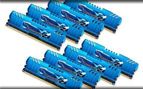 G.SKILL Ripjaws Z Series 64GB (8x8GB) DDR3 1866MHz CL10 Quad Channel Kit (F3-1866C10Q2-64GZM)