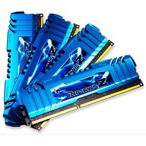 G.SKILL Ripjaws Z Series 32GB (4x8GB) DDR3 2133MHz CL10 Quad Channel Kit (F3-2133C10Q-32GZM)