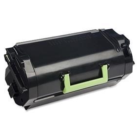 Lexmark 62D1H00 621H Black High Yield Return Program Toner Cartridge - Black - Laser - 25000 Page