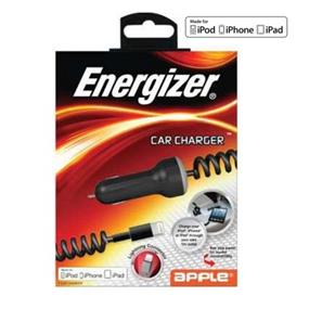 Energizer 2.1A Apple Lightning Car Charger For iPod, iPhone & iPad