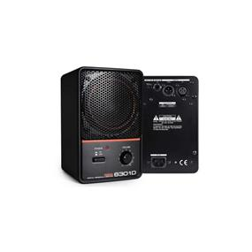 Fostex 6301 Digital - Personal Monitors Compact Powered Digital Speakers for Production, Broadcast & Presentation Professionals (SINGLE/Black)