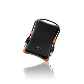 "Silicon Power Armor A30 1TB 2.5"" USB 3.0 Rugged Portable External Hard Drive Black (SP010TBPHDA30S3K) - Shockproof Military Grade"