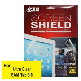 iCAN Clear Screen Protector for Samsung Tab3 8""