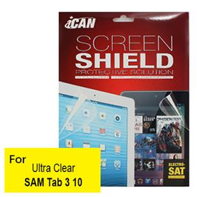 iCAN Clear Screen Protector for Samsung Tab3 10""