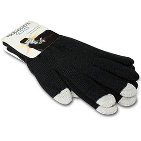 Sport Black Touchscreen compatible gloves