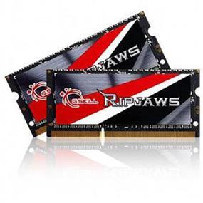 G.SKILL Ripjaws Series 8GB (2x4GB) DDR3 1600MHz CL11 SODIMM Memory 1.35V (F3-1600C11D-8GRSL)