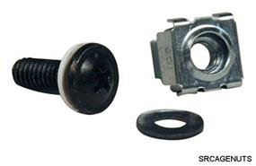 Tripp Lite Cage nuts and bolts - 50 Each (SRCAGENUTS)