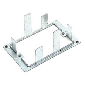 StarTech Boxless Wall Bracket for Wall Plate Silver (PLATEBRACKET)
