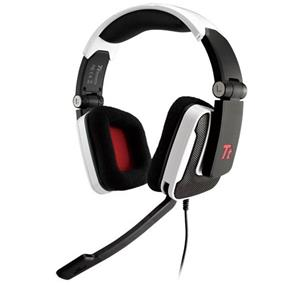 Thermaltake Tt eSports SHOCK Wired Gaming Headsets for PC - White (HT-SHK002ECWH) (P)