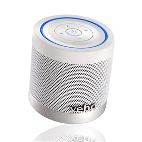Veho 360 - M4 Portable Bluetooth Wireless Stereo Speaker (VSS-747-360BT) - Ice White