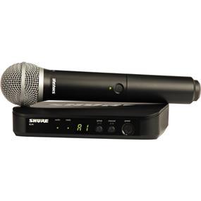 Shure BLX24/PG58 - Handheld Wireless System