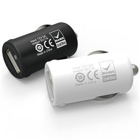 Loctek 5V 1A Universal USB Car Charger, Black
