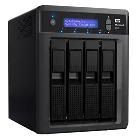 WD My cloud EX4 16TB High performance small office storage with Ultimate reliablity (WDBWWD0160KBK)