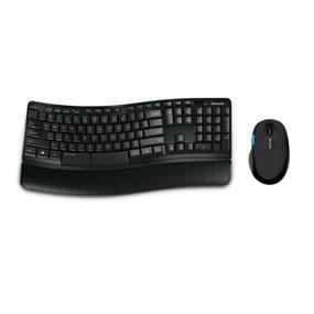 Microsoft (L3V-00002) Sculpt Comfort Desktop Wireless Keyboard and Mouse Combo - Black
