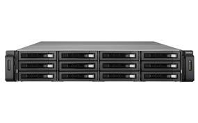 QNAP 12 Bay VS-12164U-RP Pro+  NVR Quad Core Intel Core i5 3.7GHz 8GB RAM