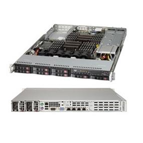 Supermicro SuperServer (1027R-WRF4+) - Barebone System - 1U Rack-mountable - Intel C606 Chipset - Socket R LGA-2011 - 2 x Processor Support - Black - 768 GB Maximum RAM Support - Serial ATA/600, Serial Attached SCSI (SAS) RAID Supported Controller - Matrox G200 Graphics Integrated - 3 x Total Expansion Slots - Processor Support (Xeon)