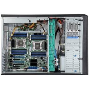 "Intel Server System P4308CP4MHGC - Server - tower - 4U - 2-way - RAM 0 MB - SAS - hot-swap 3.5"" - no HDD - Matrox G200 - Gigabit LAN - Monitor : none."