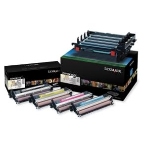 Lexmark Black and Color Imaging Kit - Laser Imaging Drum - Black, Cyan, Magenta, Yellow - 30000 Page - 1 Pack (C540X74G)