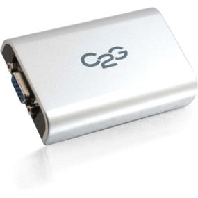 Cables To Go USB to VGA Adapter Up To 1920 x 1080 - 1 x Type B Female Mini USB - 1 x HD-15 Female VGA (30545)