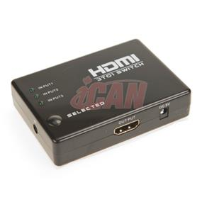 iCAN HDMI Switch, 3 input, 1 output (DSW-IHD3IN1OUT)