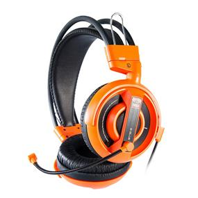 E-Blue Cobra Professional Gaming Headset - Orange (EHS013OG)