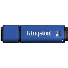 Kingston DataTraveler Vault Privacy 3.0 8GB USB 3.0 Flash Drive with 256bit AES Encryption (DTVP30/8GB)