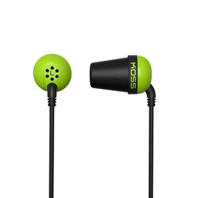 KOSS PLUG - In Ear Headphones (Green)