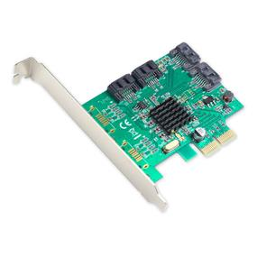 SYBA SATA III 4-port PCI-e Version 2.0, x2 Slot Controller Card (SI-PEX40057)