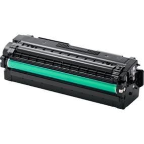 Samsung CLT-C506L Toner Cartridge - Cyan - Laser - 3500 Page - 1 Pack - OEM