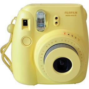 Fujifilm instax mini 8 - Instant Film Camera w/Film (Yellow)