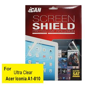 iCAN Ultra Clear Screen Protector for Acer Iconia A1-810