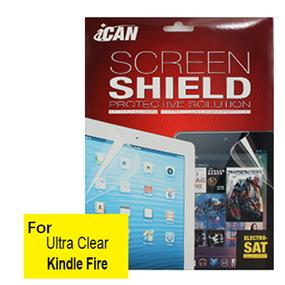 iCAN Ultra Clear Screen Protector for Kindle Fire