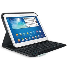 "Logitech Ultrathin Galaxy Tab 3 10"" Keyboard Case (920-005803) - Carbon Black"