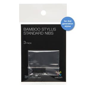 Wacom Bamboo (2nd Generation) Stylus Nibs 3 Pack