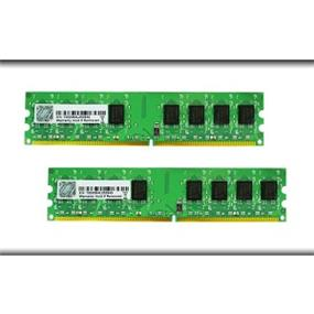 G.SKILL NT Series 4GB (2x2GB) DDR2 800MHz DIMMs (F2-6400CL5D-4GBNT)