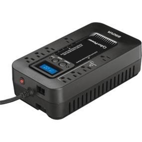 CyberPower EC650G Ecologic 650VA/390W Energy Efficient LCD Desktop ECO UPS - 650 VA/390 WDesktop - 4 x NEMA 5-15R - , 4 x NEMA 5-15R