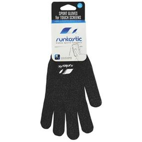 Runtastic Sports Gloves for Touch Screens Size Medium / Large  - Black (RUNGLML1)