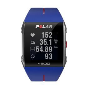 Polar V800 Multisport Training Sports Watch  - Blue / Red (90048944)