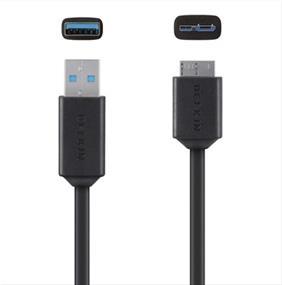 Belkin Micro-B to USB 3.0 Cable (F3U166BT03-BLK)