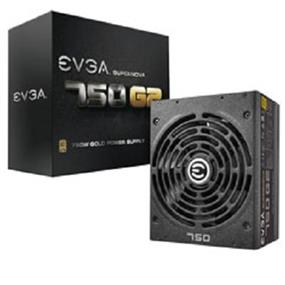 EVGA SuperNOVA 750 G2 750W 80 Plus Gold Certified Full Modular Power Supply  Intel 4th Gen CPU Compatible 10 Year Warranty (220-G2-0750-XR)