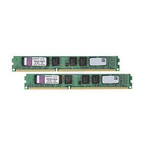 Kingston ValueRAM 8GB (2x4GB) DDR3 1600MHz CL11 Single Rank DIMMs (KVR16N11S8K2/8)