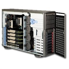 Supermicro Case CSE-747TQ-R1620B 4U 1620W 80PLUS 8x3.5inch SAS/SATA Dark Gray Retail