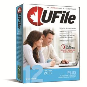 Ufile Tax Year 2013 with 12 Returns