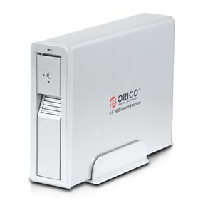 ORICO 7618US3 Superspeed USB 3.0 to 3.5-inch SATA Hard Drive HDD Enclosure Case Tool Free