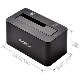 "ORICO 6619US3 USB3.0 (5Gbp/s)Docking station for 2.5"" & 3.5"" HDD & SSD [6TB Support]"