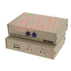 iCAN USB 1 type-A 2 Type-B Manual Switch Box (DSW USB-1A2B-2)
