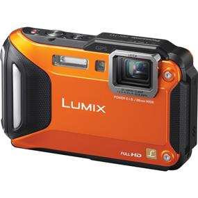 Panasonic Lumix DMC-TS5 - Digital Camera (Orange)