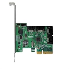 HighPoint Controller Card RocketRAID 640L 4Port Intel SATA 6Gb/s PCI Express x4 RAID Retail (ROCKETRAID 640L)